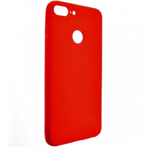 Силиконовый чехол SMTT Huawei Honor 9 Lite (Красный)