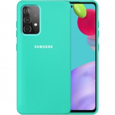 Силикон Original Case Samsung Galaxy A52 (2021) (Бирюзовый)