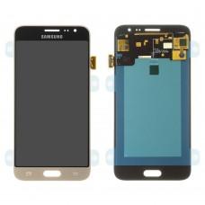 Дисплейный модуль для Samsung J320 Galaxy J3 (2016) (Gold) (copy)