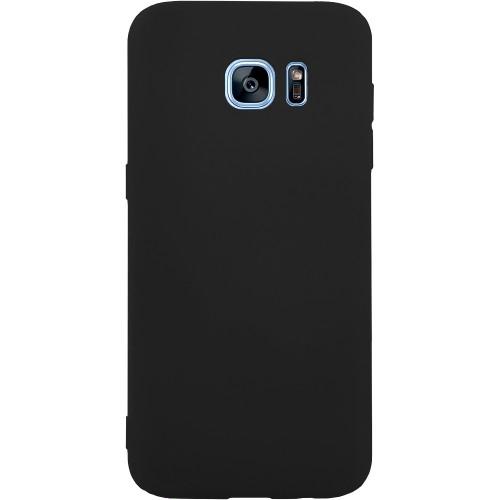Силикон iNavi Color Samsung Galaxy S7 Edge (Черный)