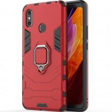 Бронь-чехол Ring Armor Case Xiaomi Mi Max 2 (Красный)