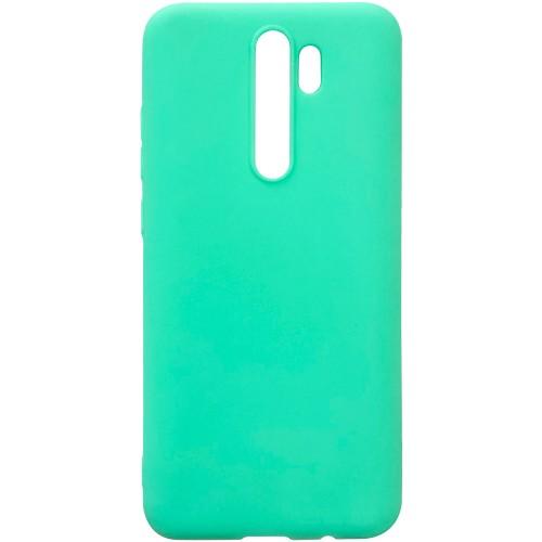 Силикон iNavi Color Xiaomi Redmi Note 8 Pro (Бирюзовый)