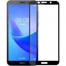 Стекло 3D Huawei Y7 (2018) / Y7 Prime (2018) / Honor 7C Pro Black
