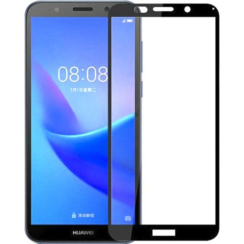 Защитное стекло 3D для Huawei Y7 (2018) / Y7 Prime (2018) / Honor 7C Pro Black