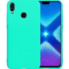Силиконовый чехол iNavi Color Huawei Honor 8X (Бирюзовый)