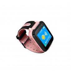 Детские смарт-часы Smart Baby Watch S5 (Pink)