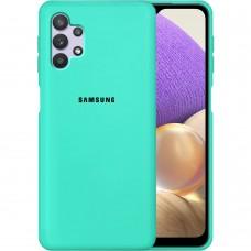 Силикон Original Case Samsung Galaxy A32 (2021) (Бирюзовый)