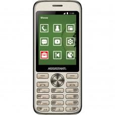 Мобильный телефон Assistant AS-204 (Gold)