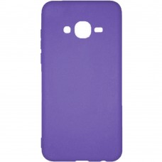 Силиконовый чехол Buenos Samsung J1 (2016) J120 (фиолетовый)