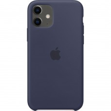 Чехол Silicone Case Apple iPhone 11 (Midnight Blue)