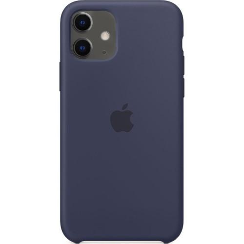 Чехол Silicone Case Apple iPhone 11 (Midnight Blue)