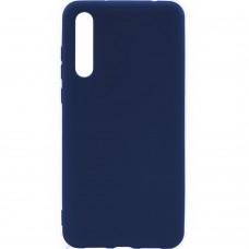 Силиконовый чехол iNavi Color Huawei P20 Pro (темно-синий)