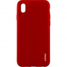 Силиконовый чехол iNavi Color Sony Xperia XA (Красный)