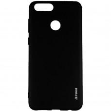 Силикон iNavi Color Huawei Honor 7X (Черный)