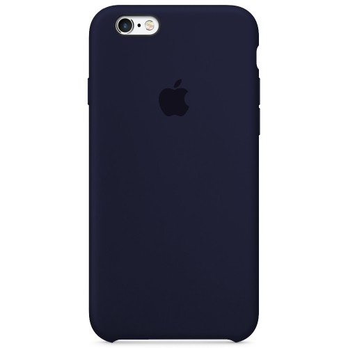 Силиконовый чехол Original Case Apple iPhone 6 / 6s (09) Midnight Blue