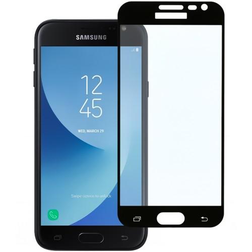 Стекло 3D Samsung Galaxy J3 (2016) J320 Black