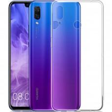 Силиконовый чехол WS Huawei P Smart Plus / Nova 3i (прозрачный)