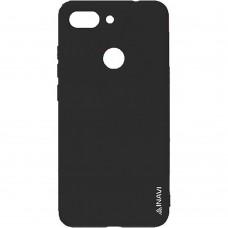 Силиконовый чехол iNavi Color Huawei Honor 9 Lite (Черный)