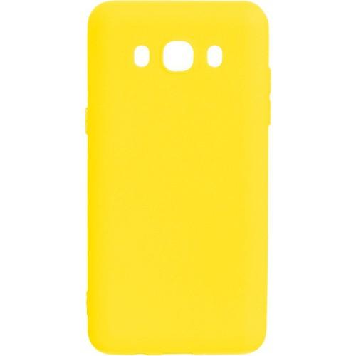 Силикон iNavi Color Samsung Galaxy J5 (2016) J510 (желтый)