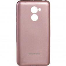 Силиконовый чехол Molan Shining Huawei Y7 2017 Розовый
