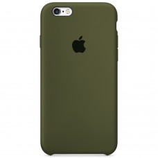 Силикон Original Case Apple iPhone 6 Plus / 6s Plus (46) Deep Green