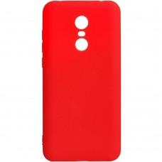 Силикон iNavi Color Xiaomi Redmi 5 Plus (красный)