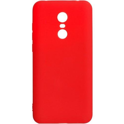 Силиконовый чехол iNavi Color Xiaomi Redmi 5 Plus (красный)