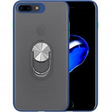 Накладка Totu Ring Magnetic Case Apple iPhone 7 Plus / 8 Plus (Синий)