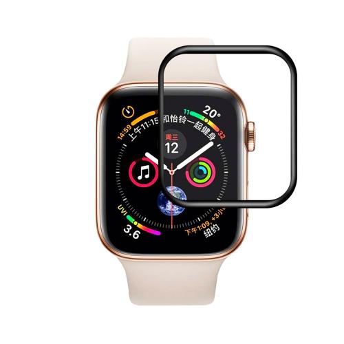 3D Защитное стекло для Apple Watch 44mm Black