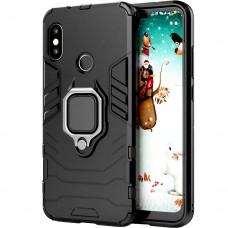 Бронь-чехол Ring Armor Case Xiaomi Redmi 6 Pro / Mi A2 Lite (черный)