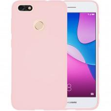 Силиконовый чехол iNavi Color Huawei Nova Lite (2017) (персик)