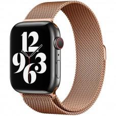 Ремешок Milanese Loop Apple Watch 38 / 40 mm (Gold)