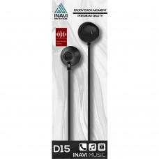 Наушники iNavi D15 (Чёрный)
