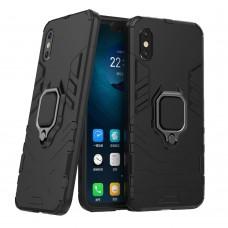 Бронь-чехол Ring Armor Case Xiaomi Mi8 (Чёрный)