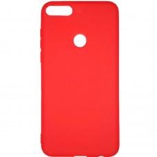 Силикон Multicolor Huawei Honor 7X (красный)