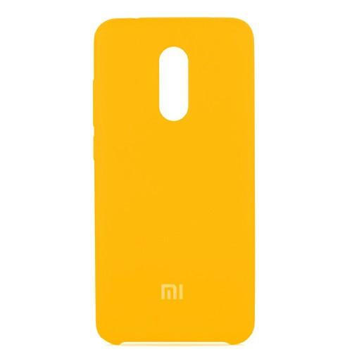 Силиконовый чехол Original Case Xiaomi Redmi Note 4x (Золотой)
