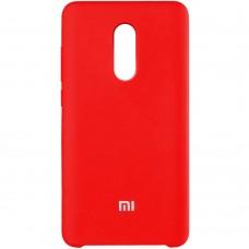 Силикон Original Case Xiaomi Redmi Note 4x (Красный)