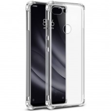 Силиконовый чехол 6D Xiaomi Mi8 Lite (Прозрачный)