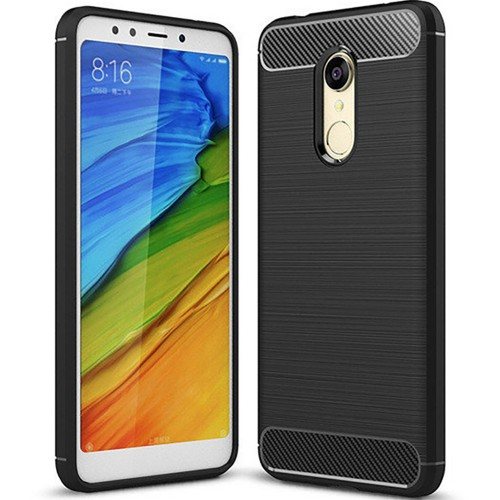 Силикон Polished Carbon Xiaomi Redmi 5 (Черный)