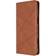 Чехол-книжка Leather Book Samsung Galaxy M31 (2020) (Коричневый)