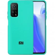 Силикон Original Case Xiaomi Mi 10T (Бирюзовый)