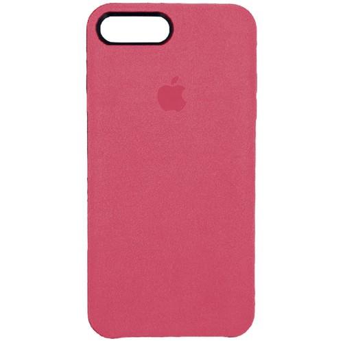 Чехол Alcantara Cover Apple iPhone 7 Plus / 8 Plus (Пыльная Роза)