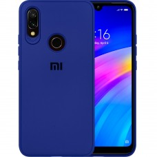 Силикон Junket Case Xiaomi Redmi 7 (Синий)