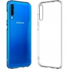 Силикон WS Samsung Galaxy A70 (2019) (прозрачный)