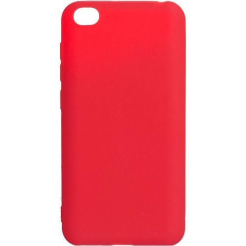 Силиконовый чехол iNavi Color Xiaomi Redmi Go (Красный)