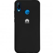 Силиконовый чехол Original Case Huawei P20 Lite (Чёрный)