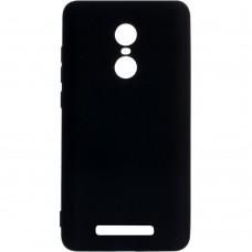 Силиконовый чехол Graphite Xiaomi Redmi Note 3 (черный)