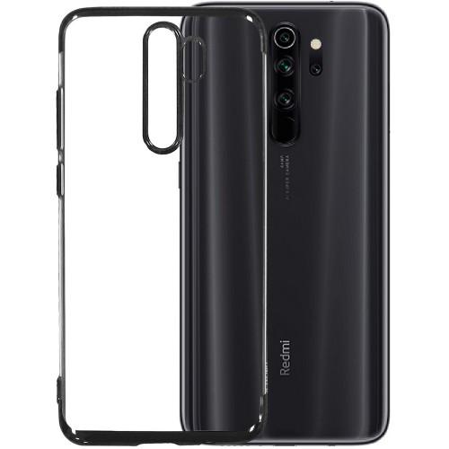 Силиконовый чехол UMKU Line Xiaomi Redmi Note 8 Pro (Чёрный)
