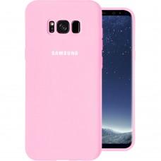 Силикон Original Case Samsung Galaxy S8 Plus (Розовый)
