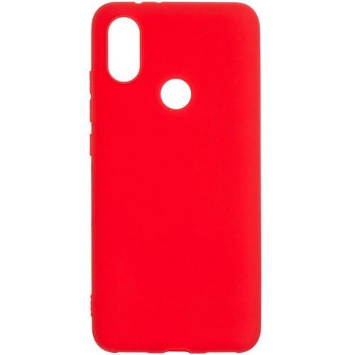Силиконовый чехол iNavi Color Xiaomi Mi6x / A2 (красный)